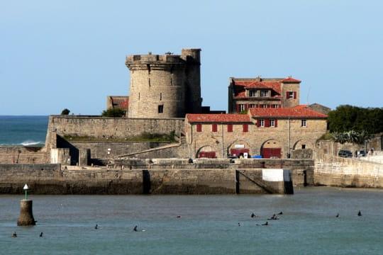 Le fort de socoa ciboure les pyr n es atlantiques - Fort de socoa ...