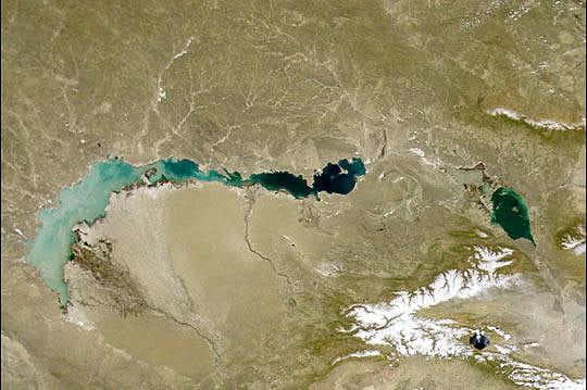 Lac Balkhash