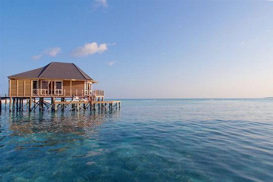 Photos pays du monde s r nit aux maldives frawsy - Maison sur pilotis maldives ...