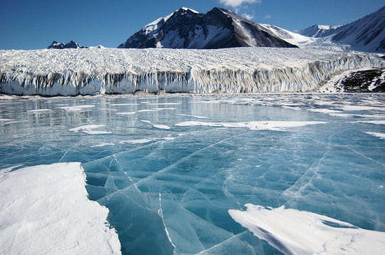 Océan gelé