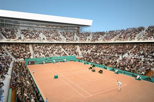 l'extension de Roland-Garros Court-supplementaire-couvert-429099