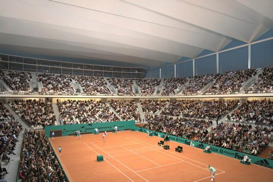 l'extension de Roland-Garros Toit-amovible-429109