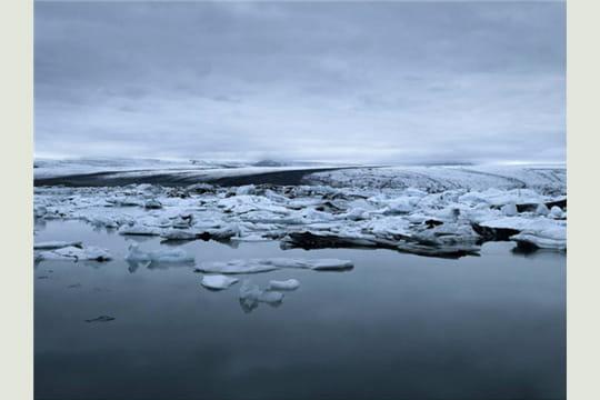 icebergs, islande