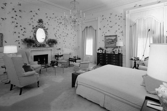La chambre coucher for Chambre a coucher blanche