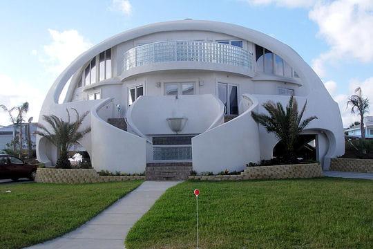 La premi re maison dome ces b timents tranges linternaute for Acheter une maison en floride forum
