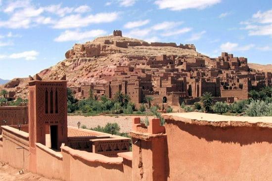 aït benhaddou au maroc