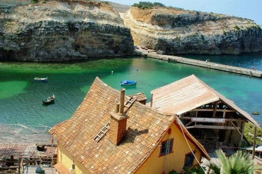 Popeye à Malte