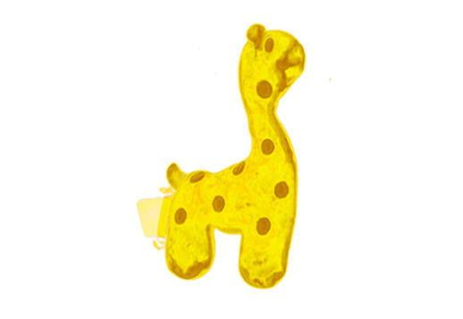 Jouet en forme de girafe