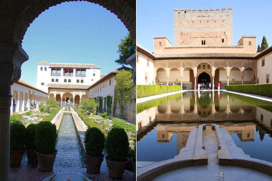 dans les couloirs de l'alhambra