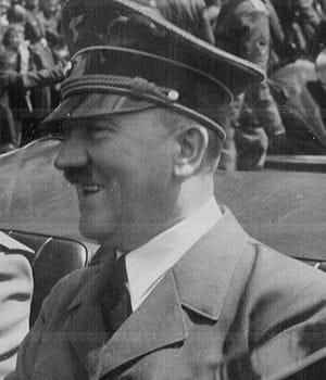adolf hitler à munich, allemagne, juin 1940.