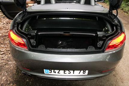 volume coffre bmw x5 2010
