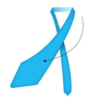 comment faire un noeud de cravate simple comment faire. Black Bedroom Furniture Sets. Home Design Ideas