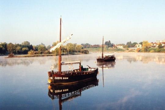 Les gabarres, bateaux-fleuves du 19e siècle