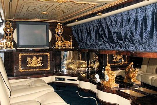 Int rieur de la rolls royce sylver seraph limousine les for Interieur rolls royce