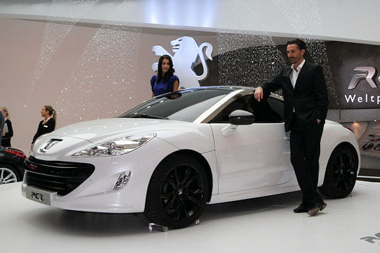 Salon Francfort 2009 : Peugeot RCZ Concept-car-478077