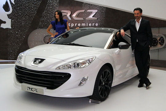 Salon Francfort 2009 : Peugeot RCZ Motorisations-478106