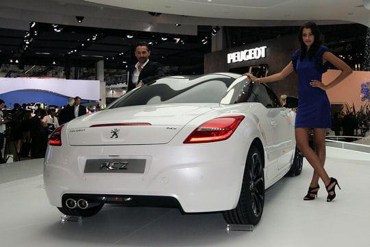 Salon Francfort 2009 : Peugeot RCZ Echappement-478113