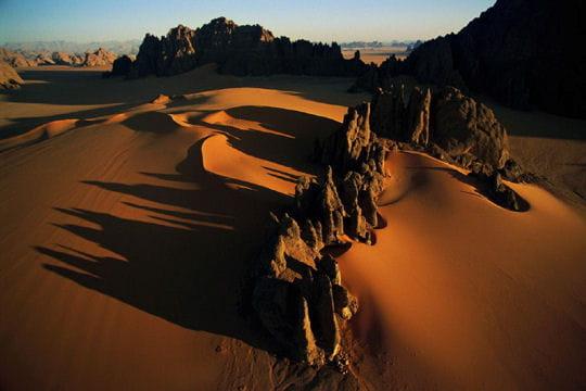 les pinacles du désert
