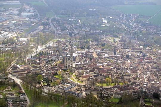 Senlis France  city photos gallery : Senlis, Oise : Villes et villages de France vus du ciel Linternaute
