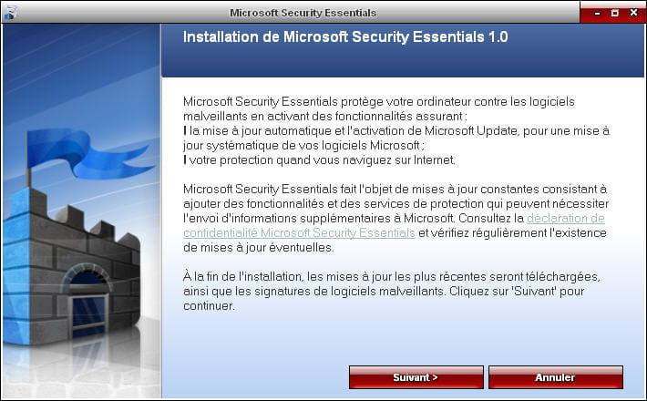 Antivirus De Microsoft Security Essentials