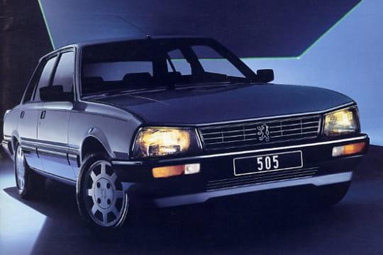 Peugeot 505 (1979 - 1992) : Les voitures qui ont marqué