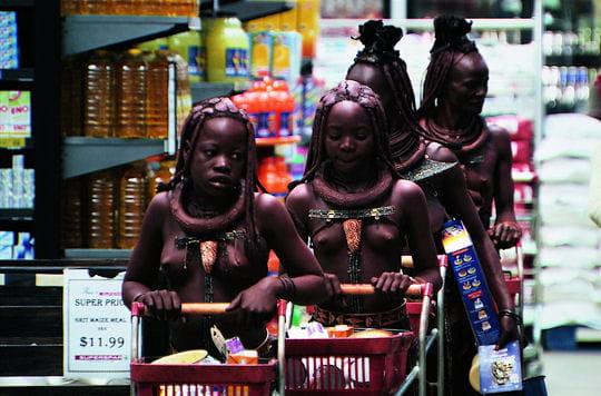 Rencontre au supermarche des femmes