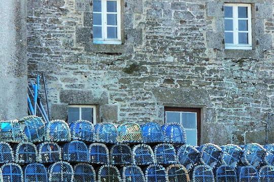 Les casiers bleus
