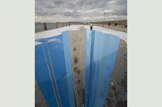 Des illusions d optique en pleine nuage ciel d 39 azur for Illusion d optique peinture