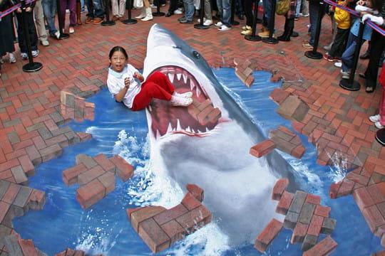 Le grand requin blanc - Dessin de grand requin blanc ...