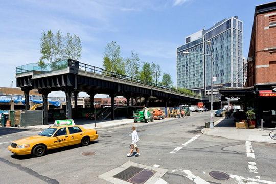 """Création de parcs urbains: La """"HIGH LINE"""" à NEW YORK"""
