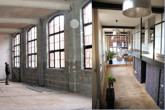 Comment elise a transform une usine en un loft tendance - Loft usine ...