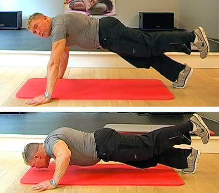 10 تمارين لتقوية عضلات الصدر Jambe-levee-499532