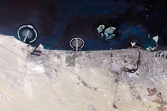 Les autres iles en projet : L'ile artificielle The Palm Jumeirah à Dubai - Linternaute