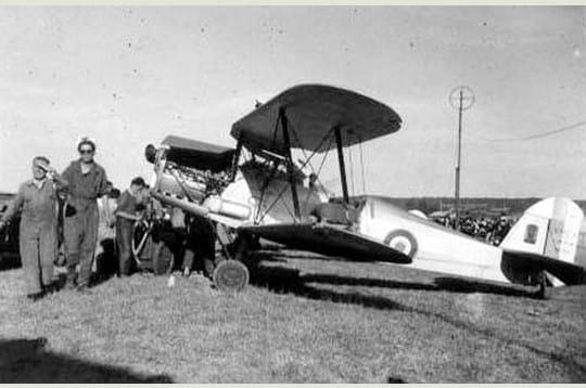 Anciens Avions Stamp-521885