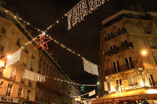 La rue du cherche midi paris ville de lumi res pour no l linternaute - La cantine du troquet cherche midi ...
