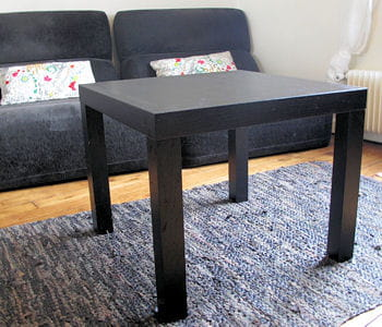 petite table noire ikea. Black Bedroom Furniture Sets. Home Design Ideas