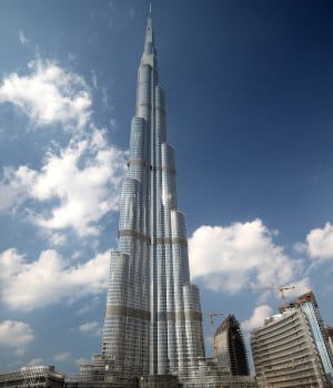 La hauteur de la plus haute tour du monde - Hauteur de la tour la plus haute du monde ...
