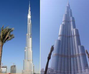 les chiffres incroyables de burj dubai, plus haute tour du monde.