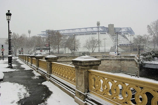 Coup de froid sur Bercy - Paris sous la neige - L'Internaute Paris