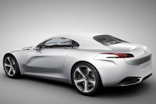 Peugeot SR1 : le coupé sort ses griffes Capote-536397