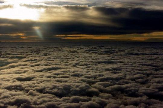 au dessus des nuages de l'uruguay