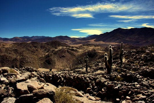 balade dans les ruines pré-incas