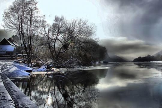 22e paysage d 39 hiver vos photos pr f r es sur la galerie photo linternaute. Black Bedroom Furniture Sets. Home Design Ideas