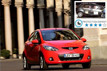 Mazda 2 n 3 ex aequo les voitures les plus s res pour for Garage mazda juvisy sur orge