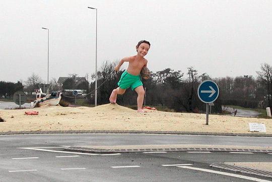 un bac à sable géant