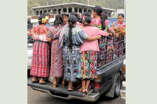 bus guatémaltèque