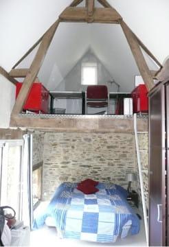 Chambre avec mezzanine la r novation d 39 une grange vieille de 300 ans - Chambre avec mezzanine ...