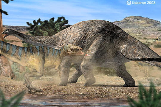 Attaque de dinosaures