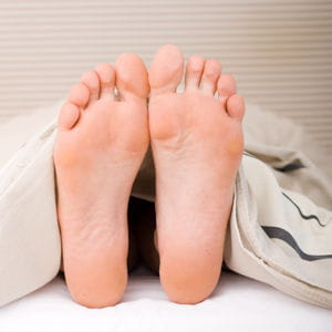 ne posez pas le pied par terre juste après le traumatisme.