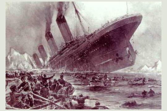 titanic, white star line
